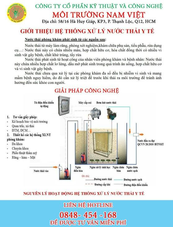 Catalog hệ thống xử lý nước thải y tế