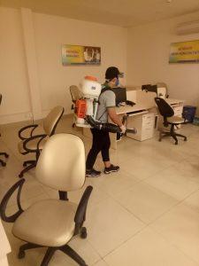Dịch vụ diệt côn trùng cho văn phòng, tòa nhà, trung tâm thương mại