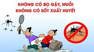 Hoạt động phòng chống dịch bệnh sốt xuất huyết